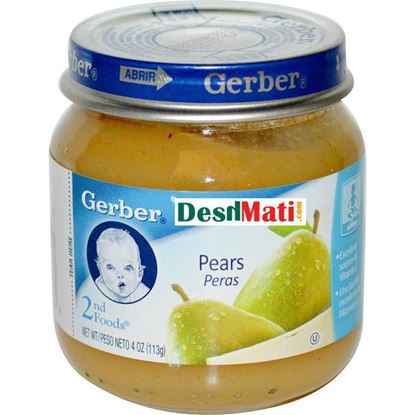 Picture of GERBER 2ND FOODS PEAR 113G