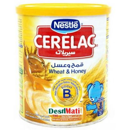 Picture of Nestle Cerelac® Honey & Wheat 6th Mth+ (400ml)