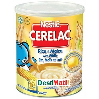 Picture of Nestle Cerelac Rice With Milk Tin (400ml)