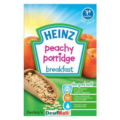 Picture of 7+ Months Baby Heinz Peachy Porridge-120g
