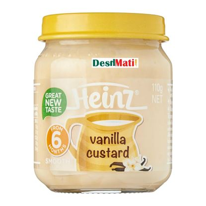 Picture of Heinz Smooth Vanilla Custard 110 g