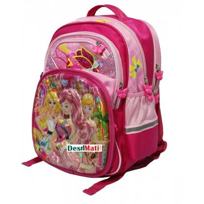 Picture of Max Special Cartoon School Bag ( Pink )