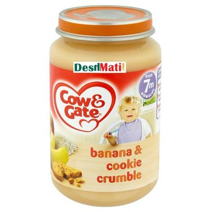 Picture of Cow & Gate Banana & Cookie Crumble (200g)