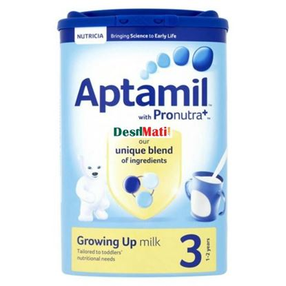 Picture of Aptamil Growing Up Baby Milk 3 (1-2 Years) 900g