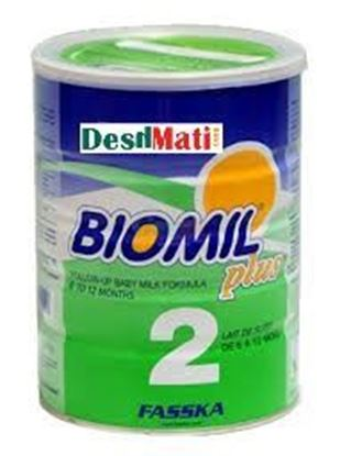 Picture of Biomil 2 Follow Up Infant Milk Fourmula Tin  (6 -12 Month) Powder 400 gm.