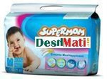 Picture of SUPERMOM Baby Diaper (Balt System) M (6 11 kg) 4 pcs