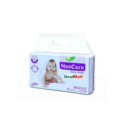 Picture of NeoCare Baby Diapers (Balt System) M (4-9kg) 50 pcs