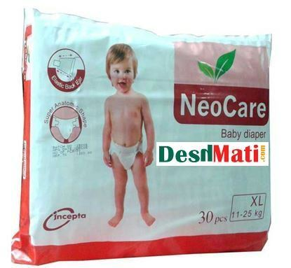 Picture of NeoCare Baby Diapers (Balt System) XL (11-25kg) 50 pcs
