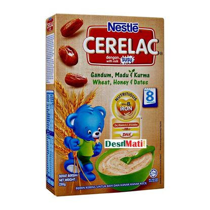 Picture of NESTLE CERELAC Wheat Honey And Dates 250G
