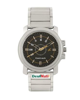 Picture of Fastrack Stainless Steel Analog Watch for Men - Silver
