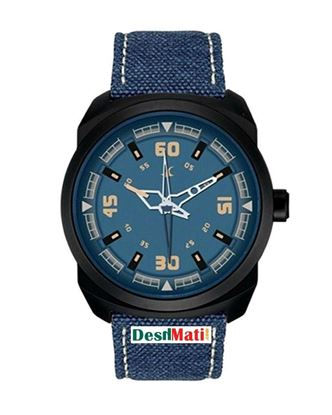 Picture of Fastrack Leather Analog Watch for Men - Nevy Blue