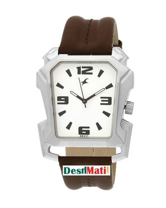 Picture of Fastrack  Leather Analog Quartz Wrist Watch for Men - Brown