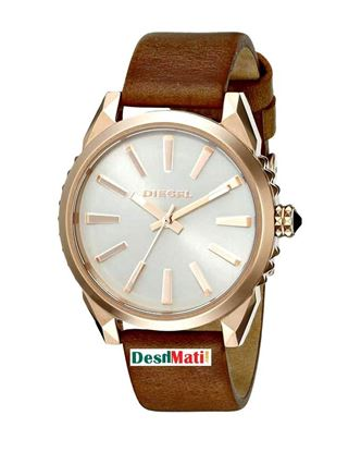 Picture of DIESEL Leather Analog Watch For Women - Brown