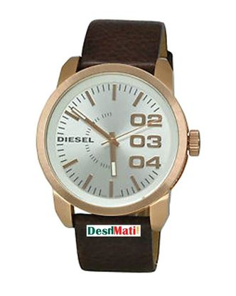 Picture of DIESEL Leather Analog Watch For Women - Dark Brown