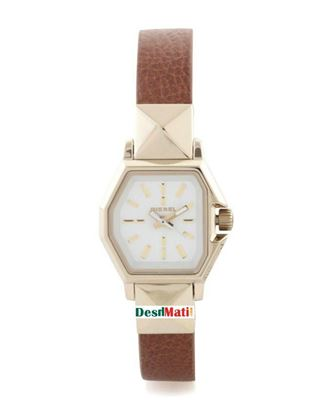 Picture of DIESEL Backup Analog Watch For Women - Brown