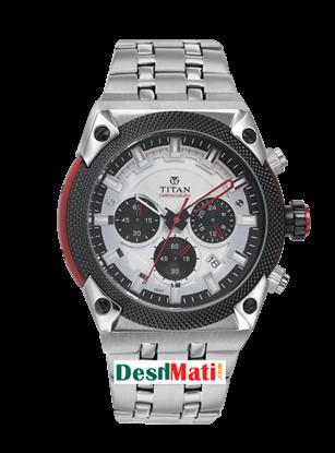Picture of Titan Octan Men Chronograph Metal watch(straight)