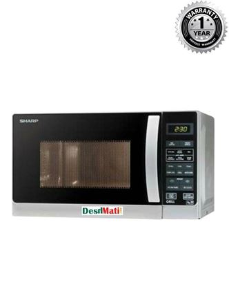 Picture of Sharp R-62AO Grill Microwave Oven 20L- Silver
