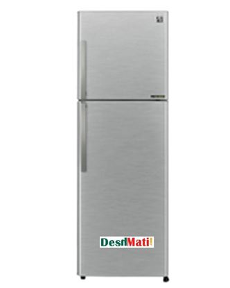 Picture of Sharp SJ-PD35P-BK Top Mount Refrigerator - Silver