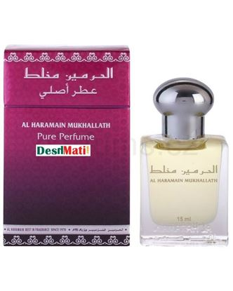 Picture of Al Haramain Mukhallath Perfume Attar Oil 15Ml