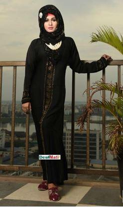 Picture of Raka Fashion Exclusive Women's Balck In Multi stones Code#9005