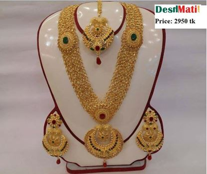 Picture of Raka Fashion Exclusive Necklace Earrings Set Code #7657