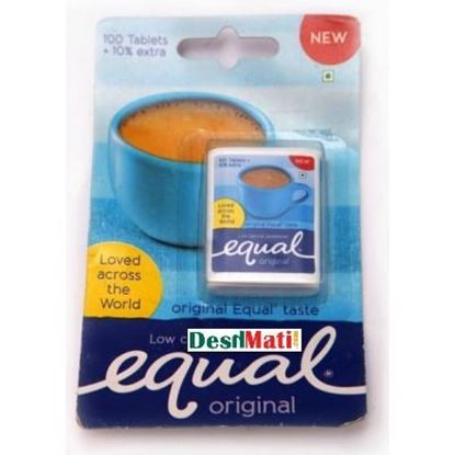 Picture of Equal Sweetener 100X1G Sachets