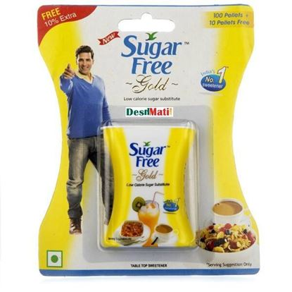 Picture of SUGAR FREE GOLD 100 TABLETS