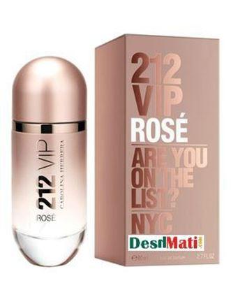 Picture of Carolina Herrera 212 Vip Rose Eau de Parfum Spray for Women - 80ml