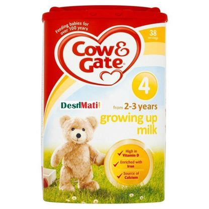 Picture of Cow & Gate Growing Up Milk 4 (From 2-3 Years) 900 gm