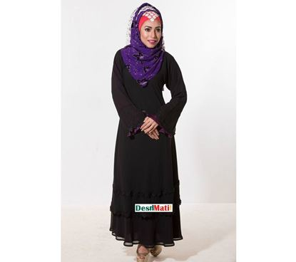 Picture of Raka Fashion Exclusive Women's Dubai Two Part Borka code#9010