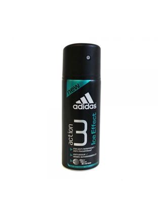 Picture of Adidas Action 3 Dry Max Ice Effect 24hrs Deo Spray For Men - Black