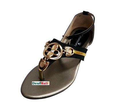 Picture of Ladies PU Leather Sandals/লেডিজ PU লেদার স্যান্ডেল