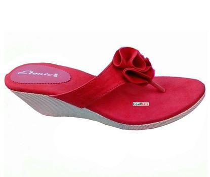 Picture of Ladies Semi-heeled sandals/সেমি-হিল লেডিজ স্যান্ডেল