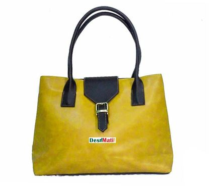 Picture of Ladies Yellow Bag DM Code 2104