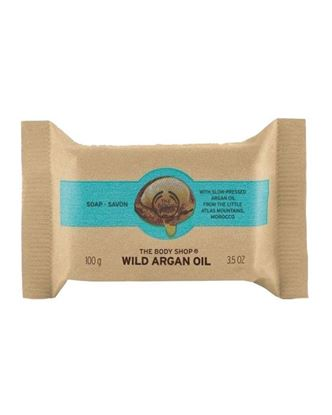 Picture of The Body Shop Wild Argan Oil Soap - 100gm