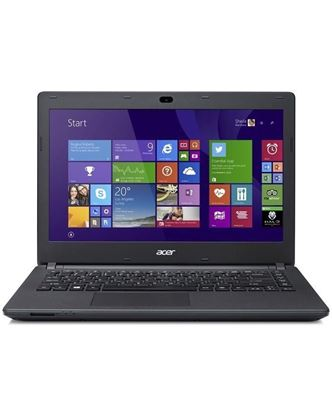 Picture of Acer Aspire ES1-411 - Black Laptop - Intel Pentium Quad Core N3540 – 2GB RAM - 500GB HDD - 14'' HD LED - Intel HD Graphics – Linux