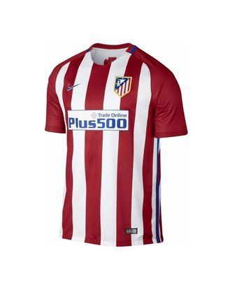 Picture of 2016-17  Atletico Madrid Home Half Sleeve Jersey