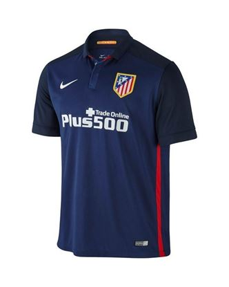 Picture of  2015 -16  Atletico Madrid Away Half Sleeve Jersey