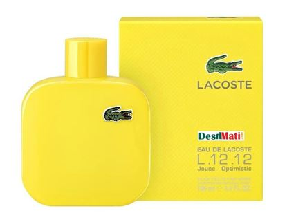 Picture of  Lacoste Jaune Potimistic Perfume Spray for Men - 100ml