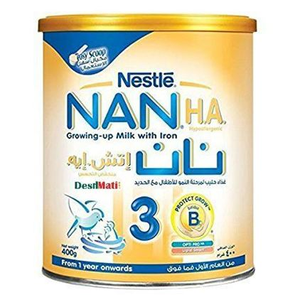 Picture of Nestle Nan (H.A.) Hypoallergenic 3 - 400g