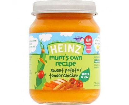 Picture of Heinz Mum's Recipe Sweet Potato & Tender Chicken (128g)