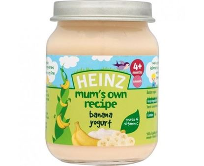 Picture of Heinz Mum's Recipe Banana Yogurt (128g)