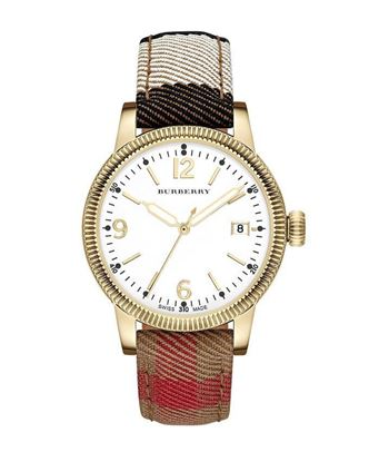 Picture of Burberry Canvas Analog Watch For Women - Multicolor