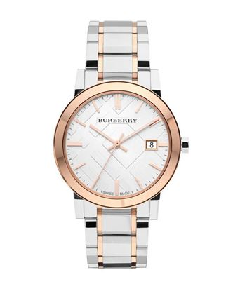 Picture of Burberry Stainless Steel Analog Watch - Silver with Gold Tone