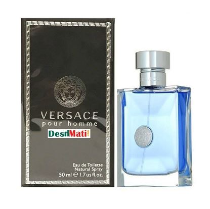 Picture of Versace cologne for men, pour homme, 1.0 fluid ounce 50 ml.