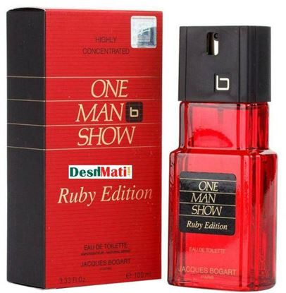 Picture of Jacques bogart one man show ruby edition for men 100 ml.