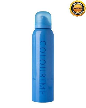 Picture of  COLOUR ME SkyBlue Highly Perfumed Body Spray For Men - 150ml