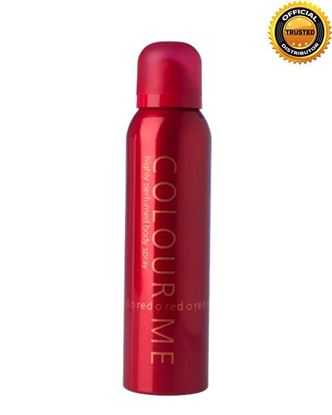 Picture of COLOUR ME Red Highly Perfumed Body Spray For Men - 150ml