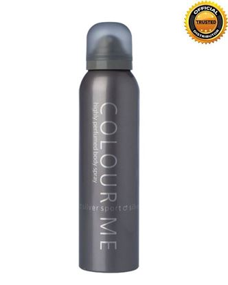 Picture of COLOUR ME Silver Highly Perfumed Body Spray For Men - 150ml