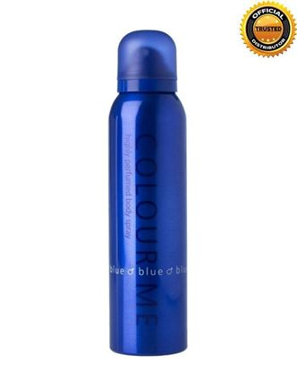 Picture of COLOUR ME Blue Highly Perfumed Body Spray For Men - 150ml